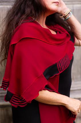 röd/svart Elin-Jane