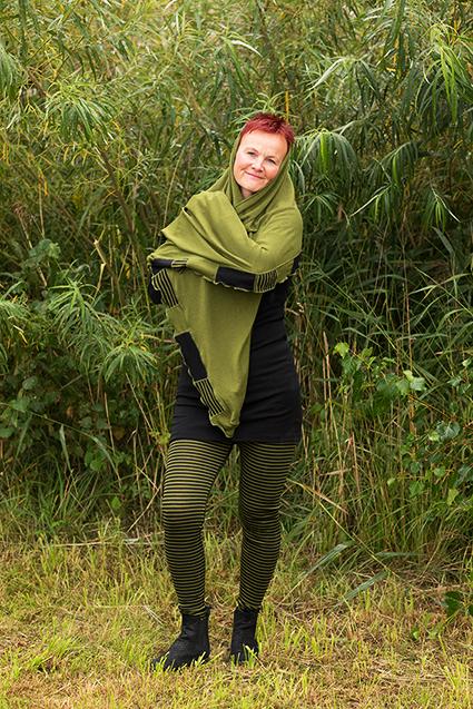 grön/svart Elin-Jane