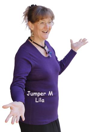 Lila jumper