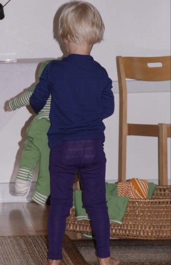 Barnleggings och tröja