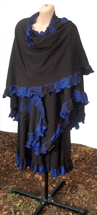 Viola svart/blå