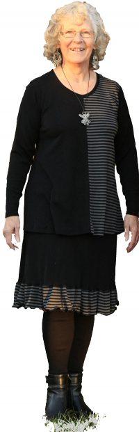 Lena svart/grå